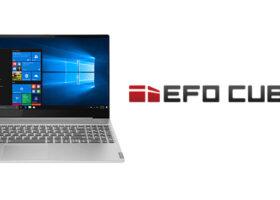 EFO CUBE+PCセットアップ初期設定